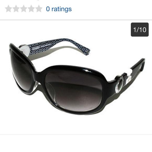 6575b17b2e32a Coach Accessories - Authentic Black Coach sunglasses Style Jovana S820